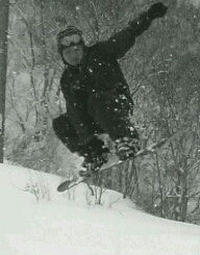 jumping! 石打丸山スキー場 スノーボード Snowboarding 越後湯沢