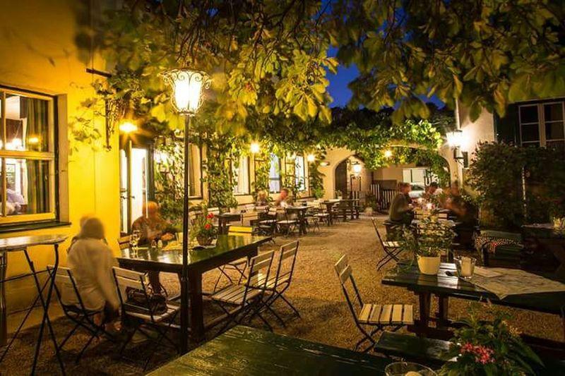 Vienna By Night.. Heurigen Meal
