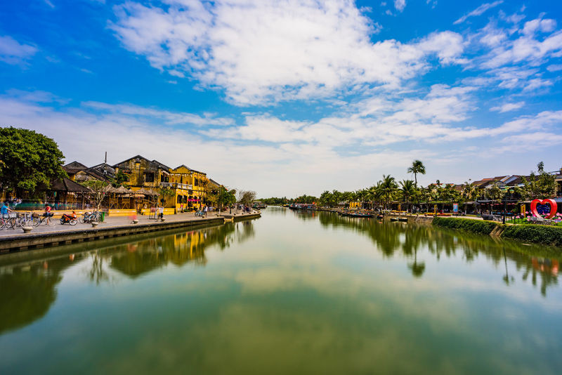 Hoi An - Vietnam Hoi An Architecture Building Exterior Built Structure Cloud - Sky Day Nature No People Outdoors Reflection Scenics Sky Tree Water Waterfront Adventures In The City