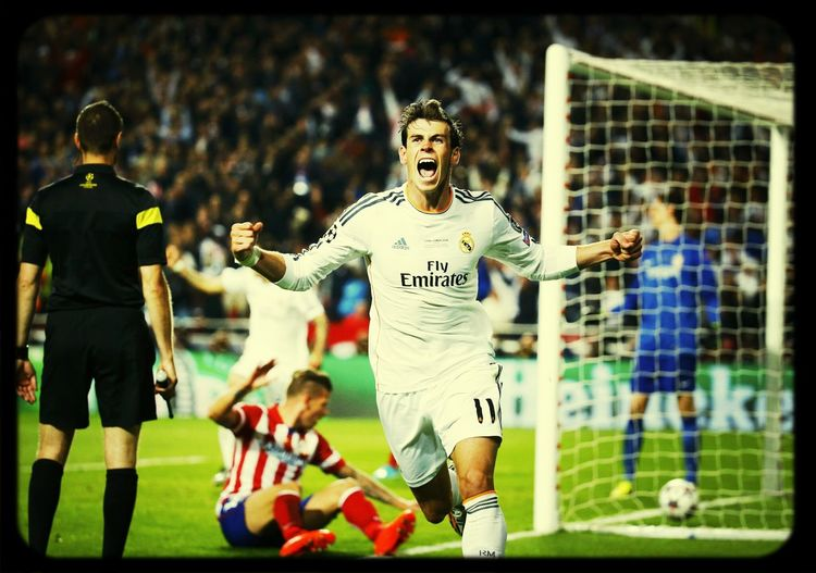Gareth Bale, The Lion, La grinta, La décima, Real Madrid, The best Club in the World, 10 Champions Leagues, Royals
