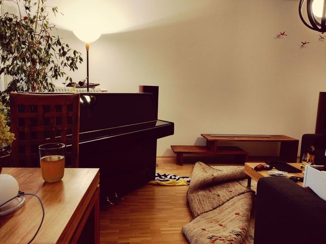 Rearranging The Living Room Piano Home Interior Indoors  Table Hardwood Floor No People