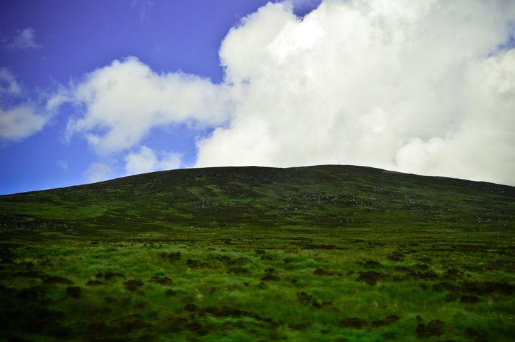 Ireland Wicklowgap Mountains Nature