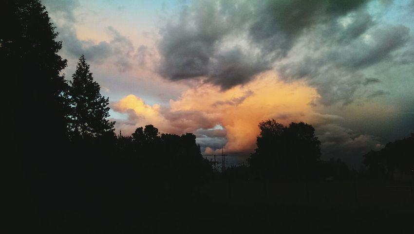 Latvia Olaine Clouds And Sky