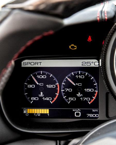 Car Interior Close-up Cockpit Dashboard Ferrari California T HS Meter - Instrument Of Measurement No People Vehicle Interior