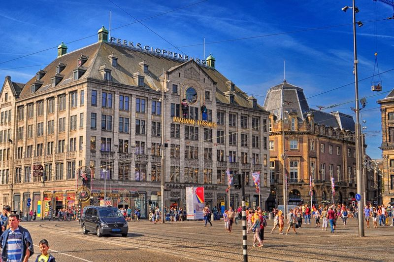 Building Exterior City Architecture Travel Destinations Outdoors People Sky Day Large Group Of People Amsterdam Europe Amsterdam Canal Amsterdamse Grachten Holland Holland❤ Netherlands Ajax Amsterdam Adults Only Adult