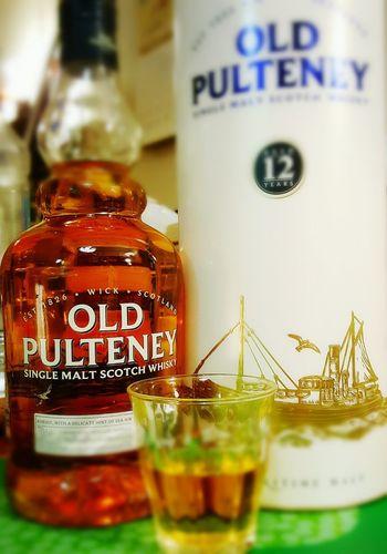 OLD PULTENEY Single Molt Whisky Taking Photos Scotch Whisky Hello World Close-up Spirituality