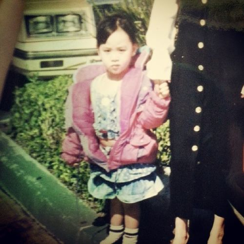 Throwback Thursday DatBellyTho lol TBT  AsianGardenMall back in the day ;p MeanMuggin NoIDontLikeSmiling