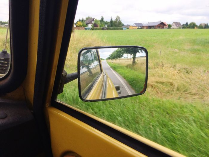 Trabant Trabi On The Road Driving