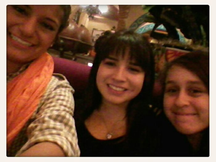 Who i look up too the most <3 i love them so much <3 My two gorgeous cousins nd Me(: