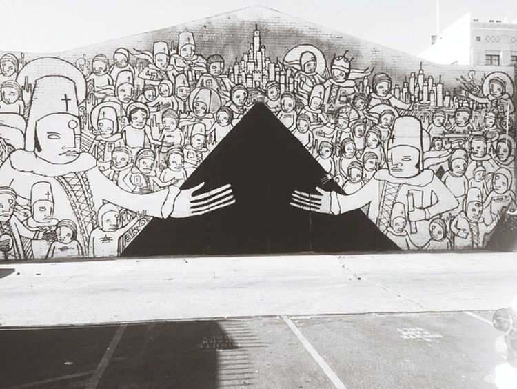 DoctorEye Discovering Great Works Black & White Street Art