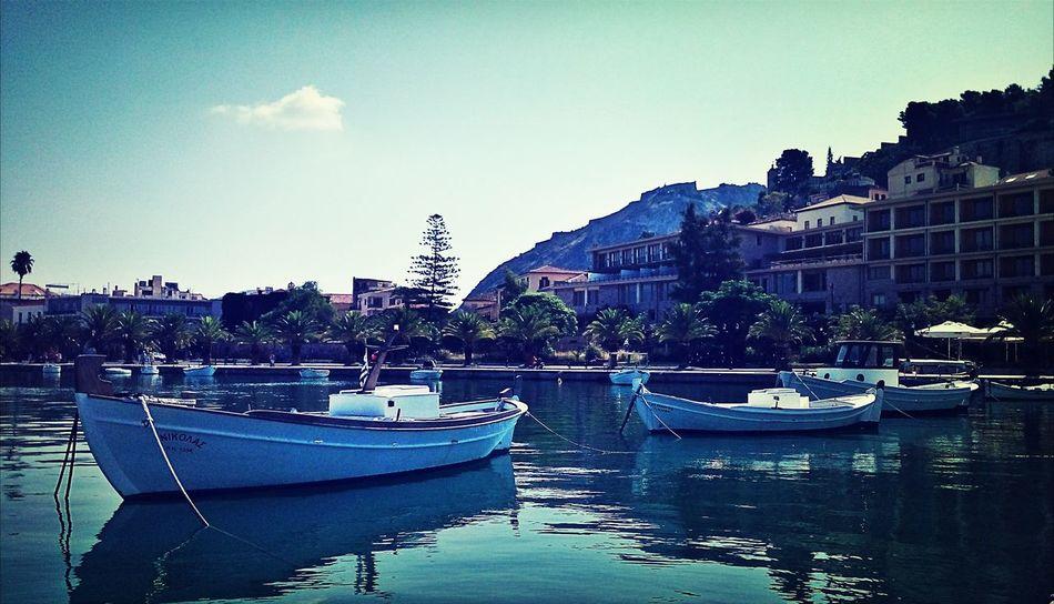 Sea Nafplio Greece Taking Photos
