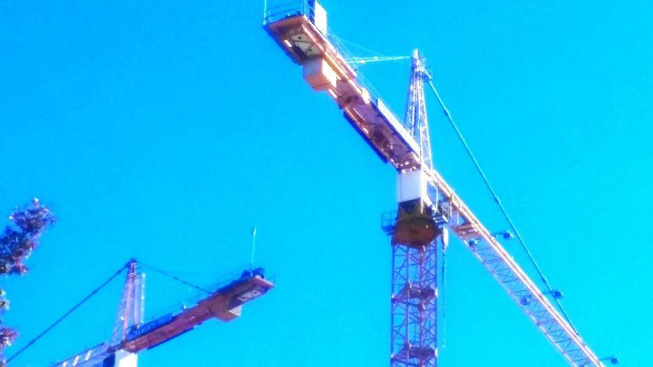 Untold Stories Cranes Builing A City Sacramento Cali Life Norcal California