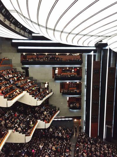 Operahouse Opera Bastille Ópera De Paris People Crowd Spectacle The Architect - 2017 EyeEm Awards
