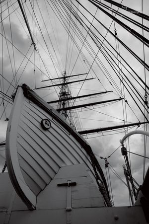 No People Cable Outdoors Communication Architecture Sky Day Nautical Vessel Built Structure Nikontop Postcode Postcards London Lifestyle London City Nikon Nikonphotography Nopeople Cutty Sark Greenwich.  Summer