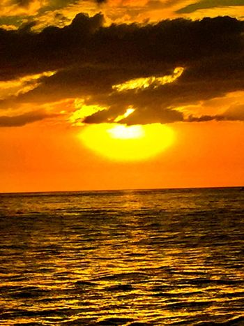 Ocean And Sky Ocean Sunset  Pacific Sky Pacific Ocean Sky Ocean Orange Color Sun Black Color Sunset No People Clouds And Sky Gray Color Second Acts Tropical Sunset Perspectives On Nature Pacific Ocean View Pacific Sunset An Eye For Travel
