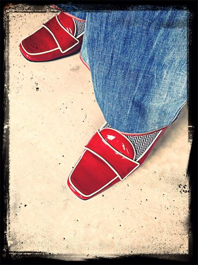 Schuhe  Lackschuhe