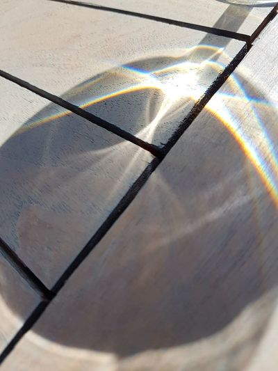 Glass Sunlight Shadow And Light Shadow Close-up Day Outdoors Table Light Detail Pattern EyeEmNewHere Shadows & Lights Shadows Structure Wine Not