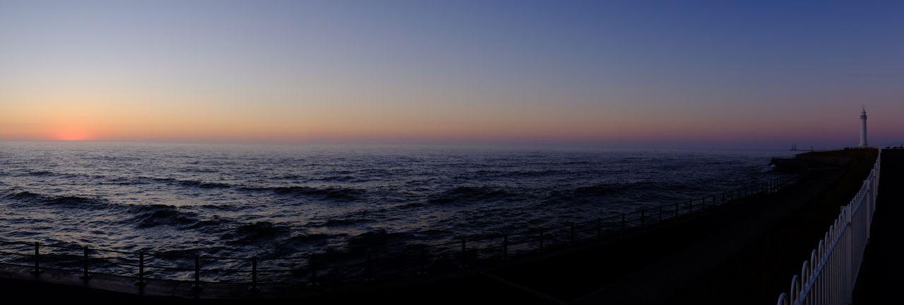 Sunderland at dawn Sunrise Dawn Sea Water Sky Horizon Scenics - Nature Horizon Over Water Outdoors Idyllic Tranquility Clear Sky