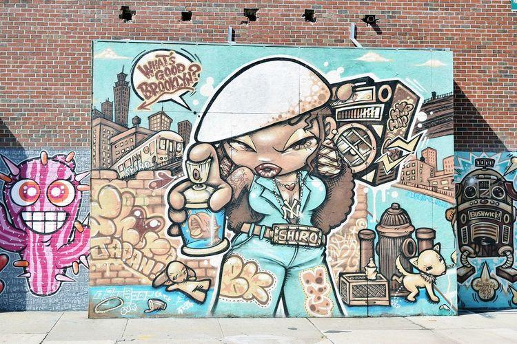 Street art in Bushwick, Brooklyn. Art Grafitti Grafitti Wall Street Art Street Art/Graffiti Street Art Photography Brookoyn Bushwick Newyork NYC