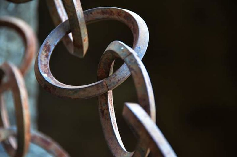 Close-up of rusty metal