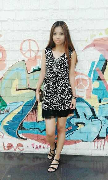 Ootd Mididress Animalprint Graffiti Casualstyle Casual Clothing Simplicity Smart Simplicity Fashion&love&beauty Fashion Art Different Is Better . ❤ Stay True, Be YOU ❥