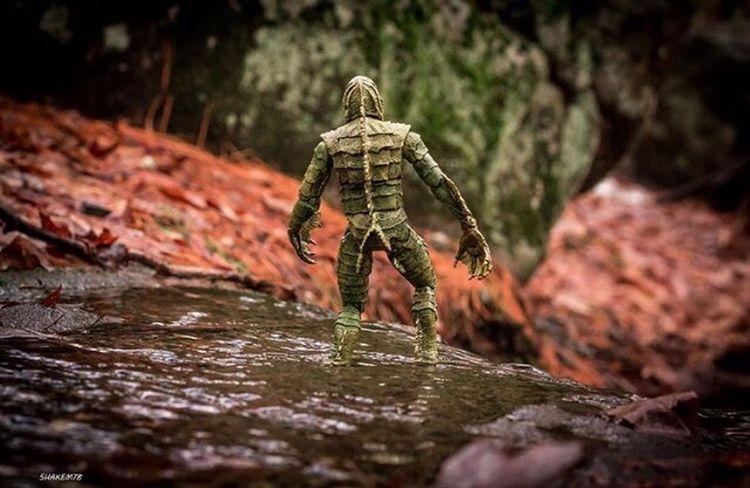 THE Creature FROM THE BLACK LAGOON 😱😱 Plasticcrack Toy Photography Toyphotographer Toyaddict Toysoutdoors Thecreatorfromtheblacklagoon