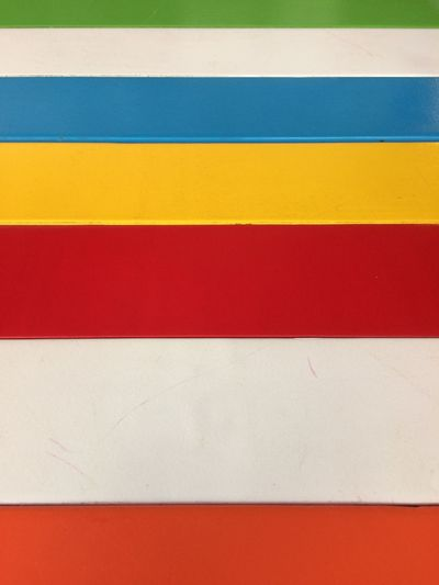 Full Frame Backgrounds Striped No People Pattern Yellow Red Close-up White Color Multi Colored Wall - Building Feature Architecture Built Structure Indoors  Day High Angle View Blue Textured  Art And Craft