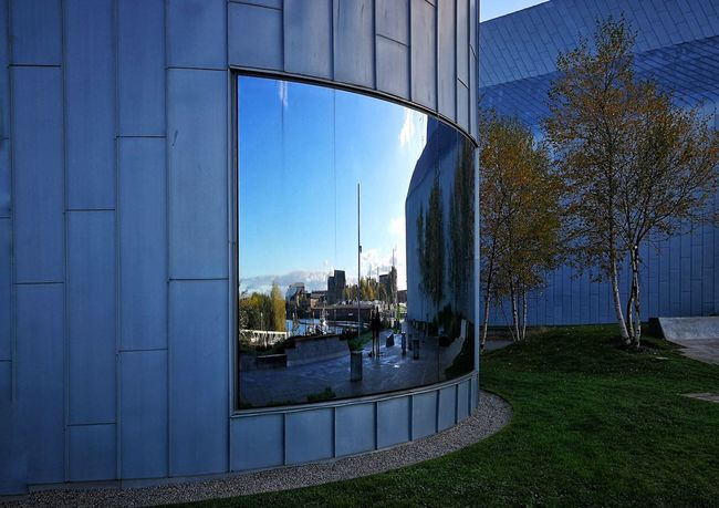 Built Structure Outdoors Architecture Day No People Building Exterior Mirror Reflection Reflection Architecture