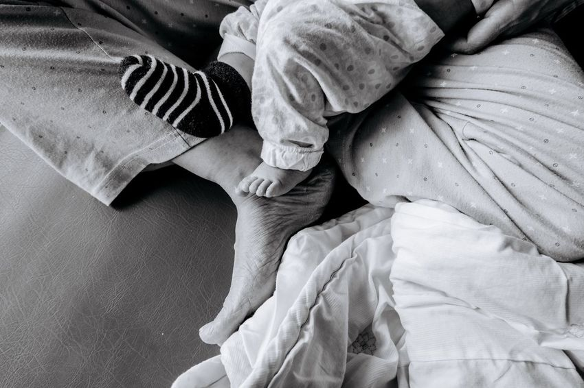 Family Blackandwhite Two People Low Section Human Leg Indoors  Togetherness Human Body Part Midsection Adult Adults Only Sitting Women Men People Day Close-up Only Women Human Hand Young Women Young Adult