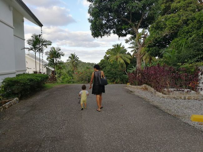 People Outdoors Real People Mothet, Mother And Son, Parents, Tropics, Holidays Motherhood Dominican Republic Republica Dominicana,