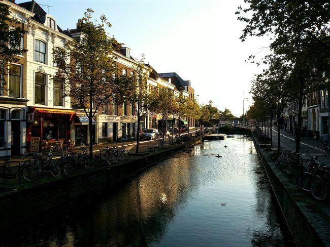 Delft Netherlands Architecture Urban Urbanphotography Sunset Summer Canal