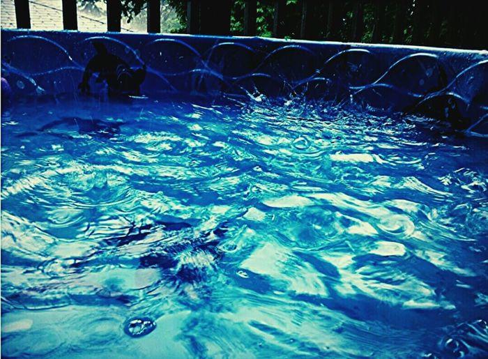 Splash ! Pool Water Rainstorm Kiddiepool