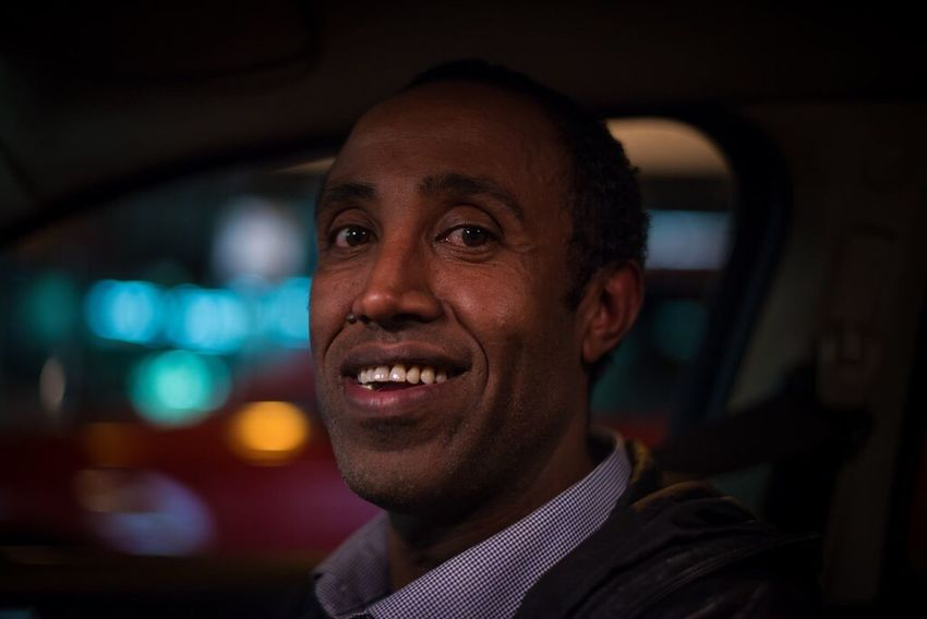 The Portraitist - 2016 EyeEm Awards Taxi Driver. Melbourne 2016 Melbourne Portrait Male Man Face Nightphotography Natural Light