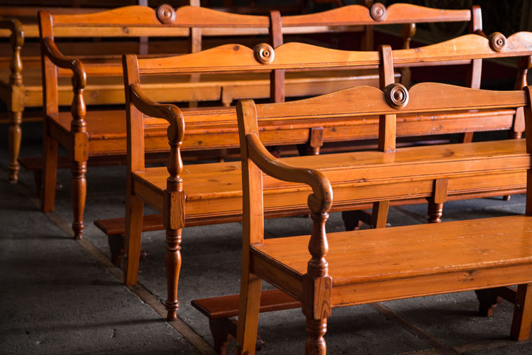 Pews In Church