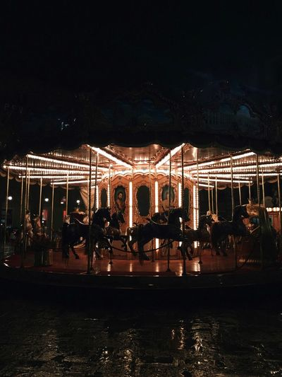 #Florence Night Illuminated Outdoors Large Group Of People Built Structure Water Real People Carousel Architecture First Eyeem Photo