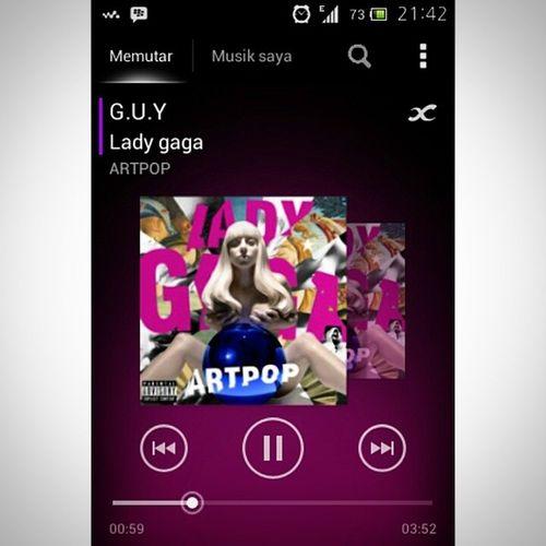 @ladygaga Nowlisten best song everrrr. In the world ??? True Fact Guy bestsongever in the world ladygaga artpop music ily monster