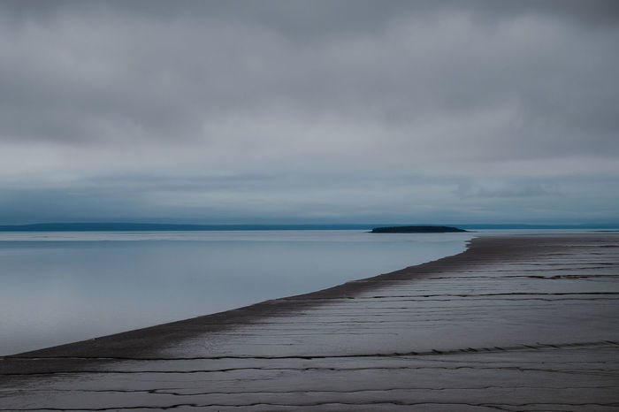 Bay of Fundy view from Hopewell Cape 2015  Backgrounds Bay Of Fundy Canada Clouds Clouds And Sky Fundy Hopewell Landscape New Brunswick, Canada Olney Outdoors Sea And Sky Seascape Serene Outdoors Serene Tranquil Outdoors Water