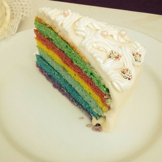 Rainbow Cake Check This Out