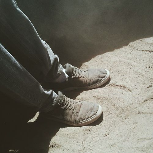 Playing in the dirt at camp. Collide14 Vscocam