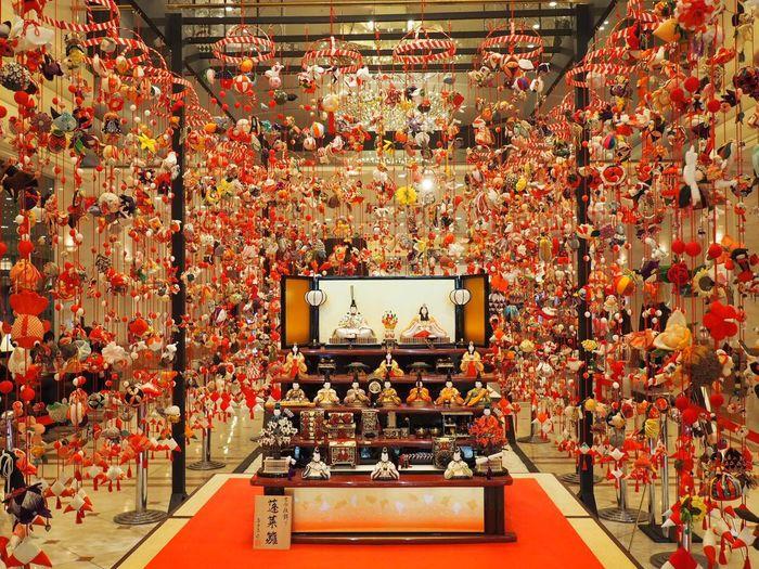 つるしびな🎎新宿京王プラザホテルにて。Hinamatsuri Dollsfestival Hinamatsuri Dolls Japan Photography Japanese Culture Tokyo,Japan Happy 日本