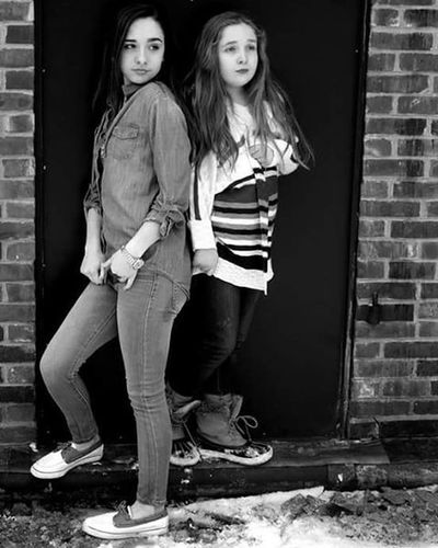 Blackandwhiteisworththefight Sisterlylove Sistermodels Lovebeingaphotographer MyDaughters