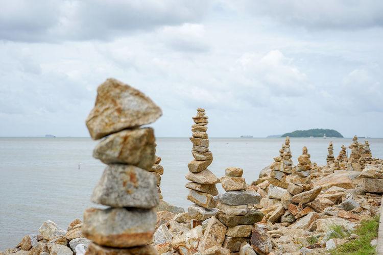 The stones were