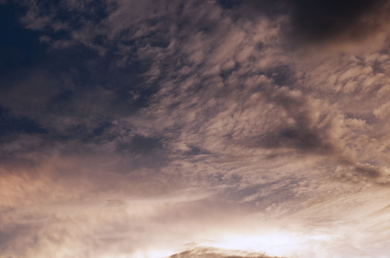 Cloud - Sky Sky Beauty In Nature Scenics - Nature Low Angle View Tranquility No People Tranquil Scene Nature Backgrounds Full Frame Outdoors Idyllic Overcast Cloudscape Sunset Dramatic Sky Day Storm Meteorology