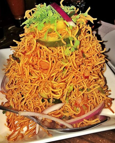 Inchinsbamboo Indochinesefood Indianfood Food Chinesebhel Inchinsbamboogarden