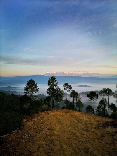 Magical view at Ranikhet Uttrakhand Gpmzn EyeEm Best Shots Leica Photography. Greenery Beauty In Nature Great Morning Pictorial Great Landscape Water Galaxy Astronomy Sea Sky Calm Idyllic Tranquil Scene Countryside Tranquility Hazy  Scenics Remote