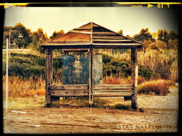 No People Outdoors Day Nafplion Nature Kiosk Iria Sky Nature