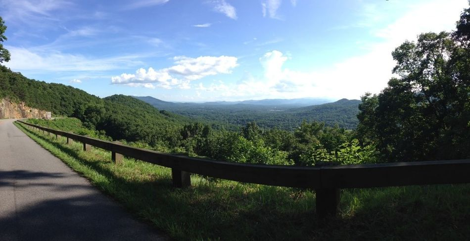 Always in lovee with the outside!:) God is great! Asheville Blue Ridge Parkway Outdoors