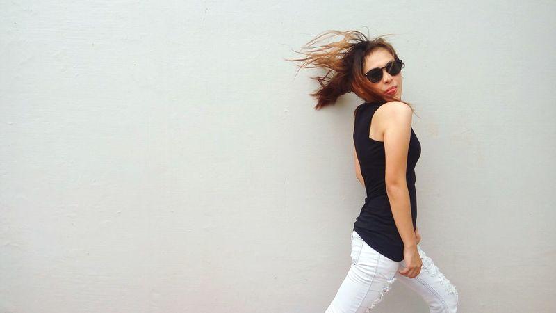 Model Photoshoot Urban City Fashion Shades Eyeem Philippines EyeEm Best Shots Woman Rockstar Check This Out Amazing Adventure Club Showcase July