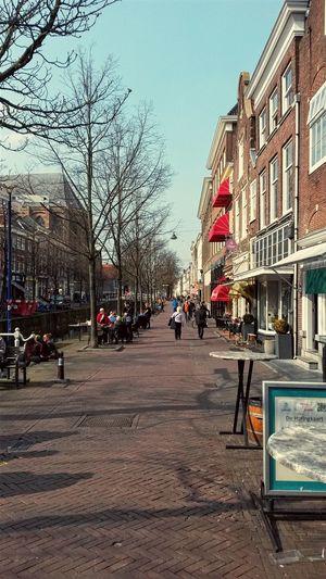 Spring Streetphotography Delft Urban Geometry Urban