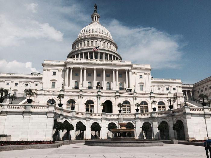 Capitol Building Against Sky